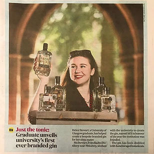 ⭐️1451⭐️ The University of Glasgow Gin.j