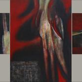 blood bone stone triptych