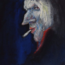 man with a large nose