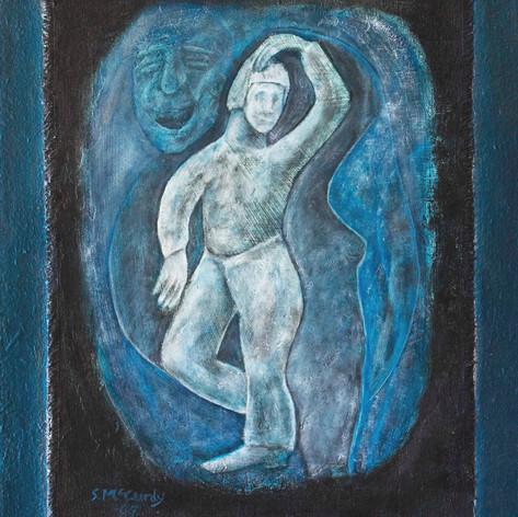 small man dancing