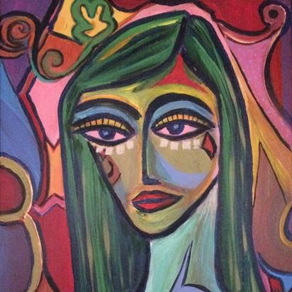 ACTRESS (self-portrait)