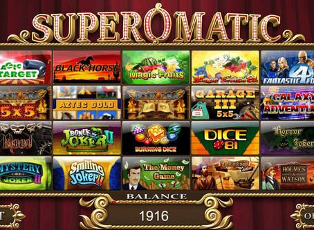 SUPEROMATIC игровая платформа для казино