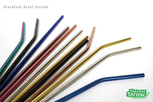 Stainless Steel Straws (6mm)