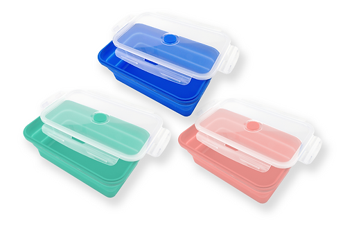 1200ml Collapsible Lunch Box