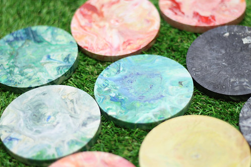 Recycled Plastic Coaster