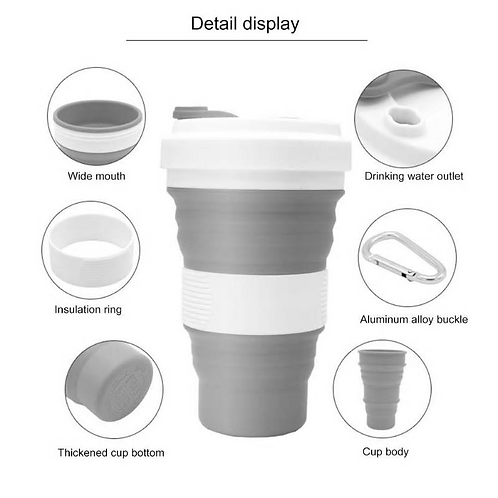 550ml Collapsible cup