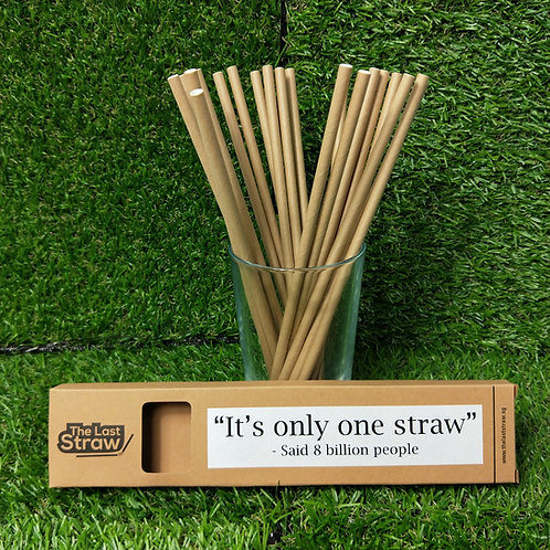 20 Pieces Paper Straw