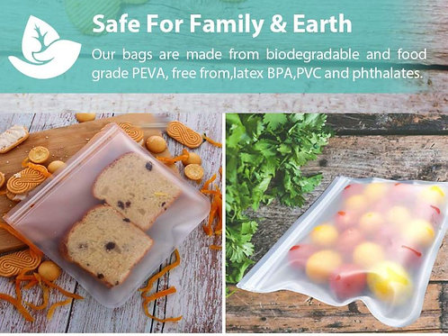 Reusable Food Storage Bag (BPA Free)