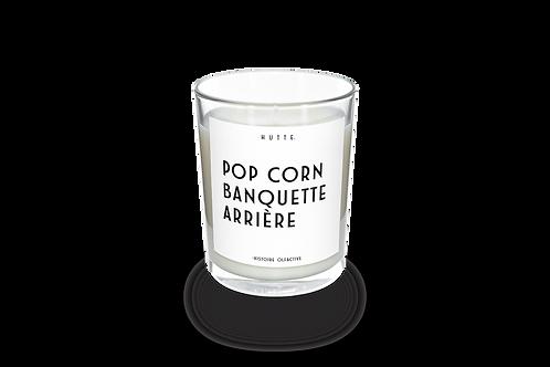 POP CORN, BANQUETTE ARRIÈRE