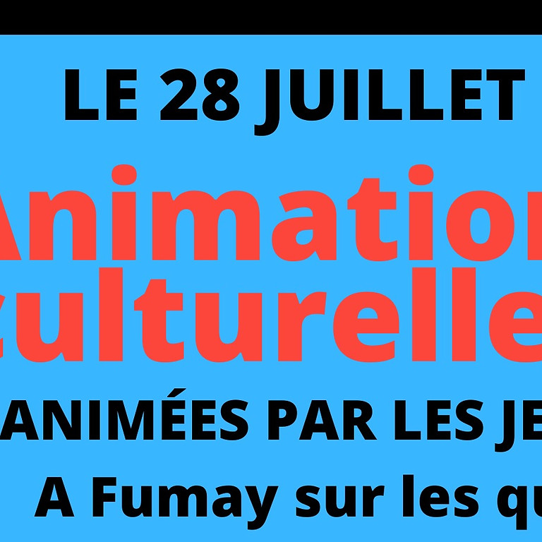 Animations culturelles