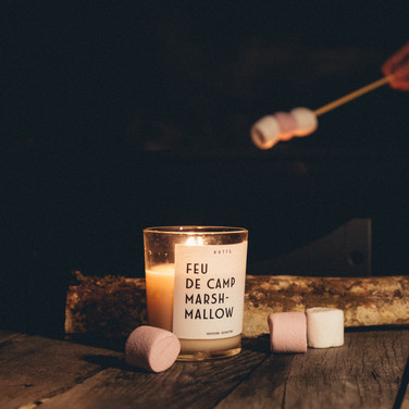 FEU DE CAMP MARSHMALLOW
