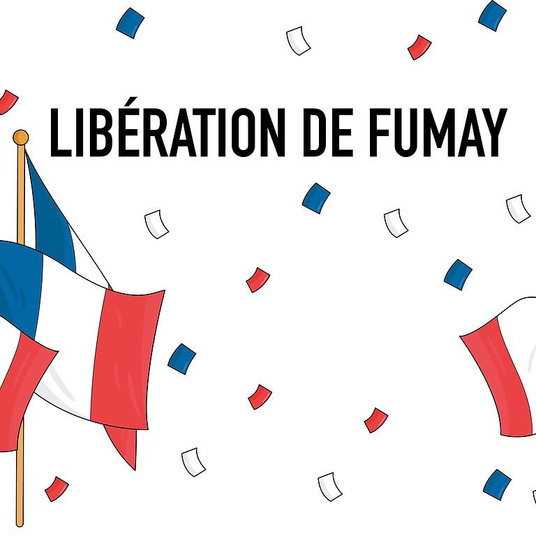 Cérémonie libération de Fumay