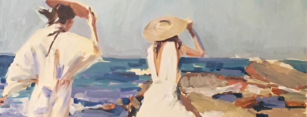 Womenon the Beach (SOLD)