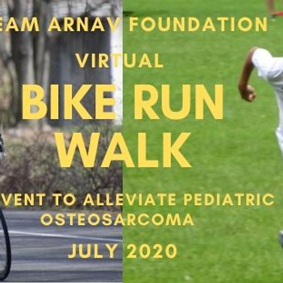 TeamArnav Virtual Walk/Run/Bike Event (Closed)
