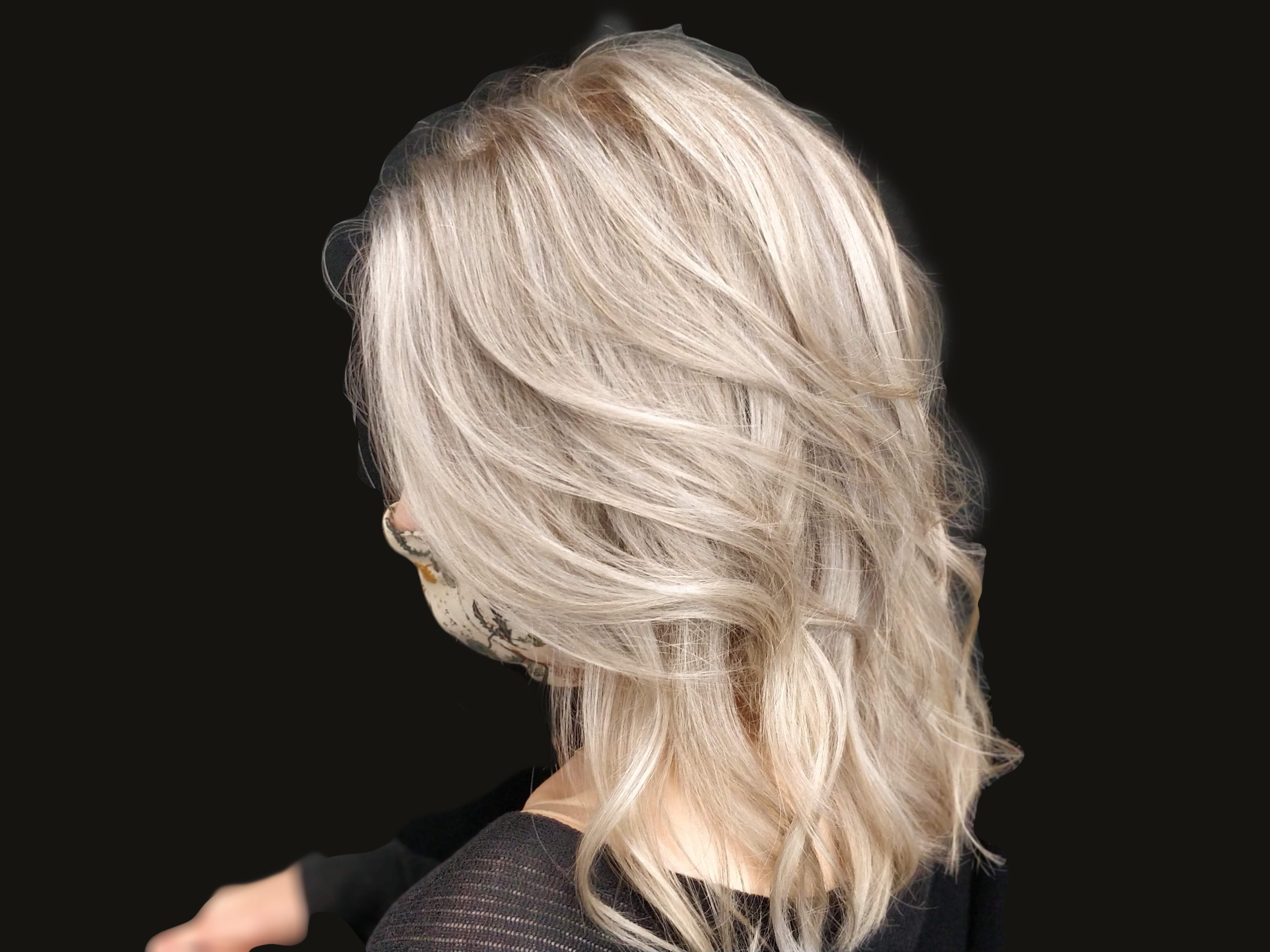 Ice Blonde Balayage
