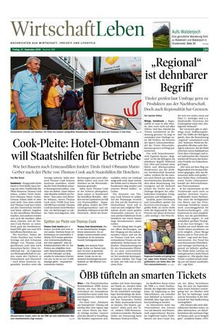 Cook-Pleite Hotel-Obmann will Staatshilfen für Betriebe