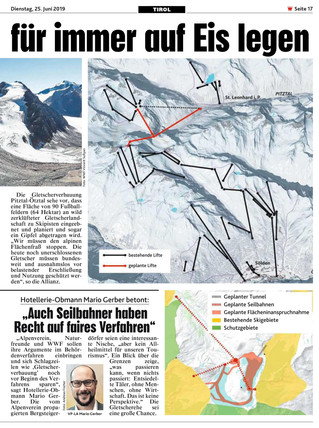 Allianz will Gletscherehe für immer auf Eis legen