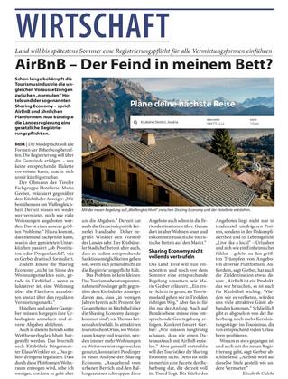 AirBnB - Der Feind in meinem Bett?