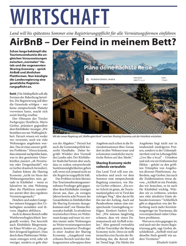 Airbnb Pleite