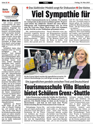 Viel Symphatie für einen Betten-Stopp in Tirol