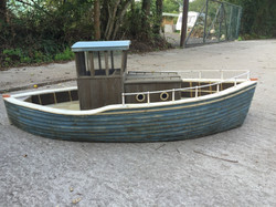 Their Finest model boat finished