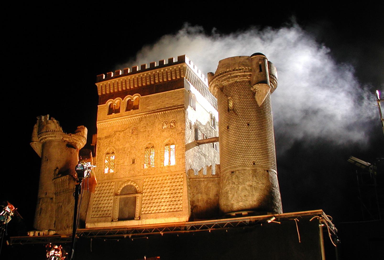 SFX Miniature Capricorn's Castle - Inkheart (2008)