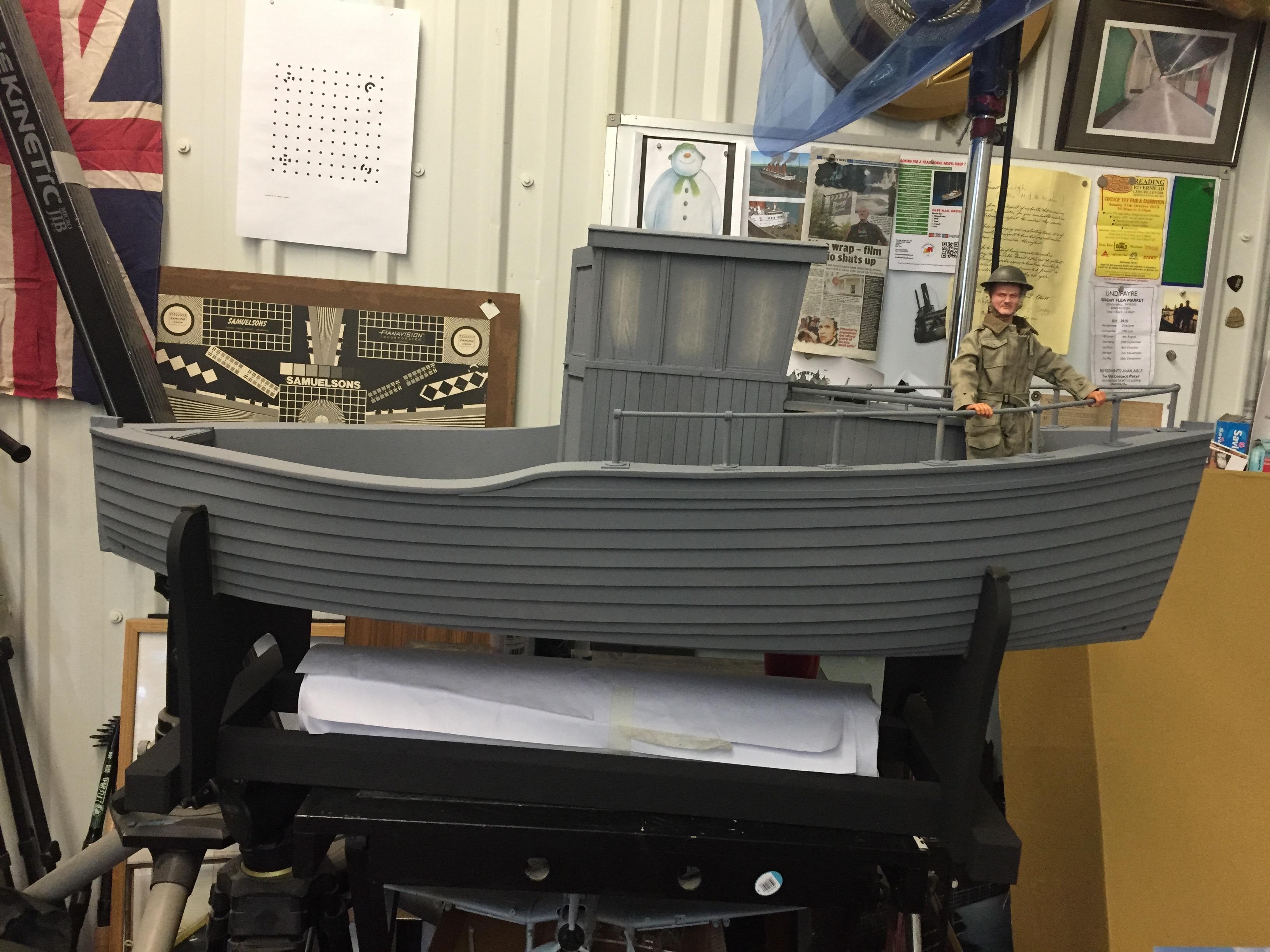 Model Making Miniature boat