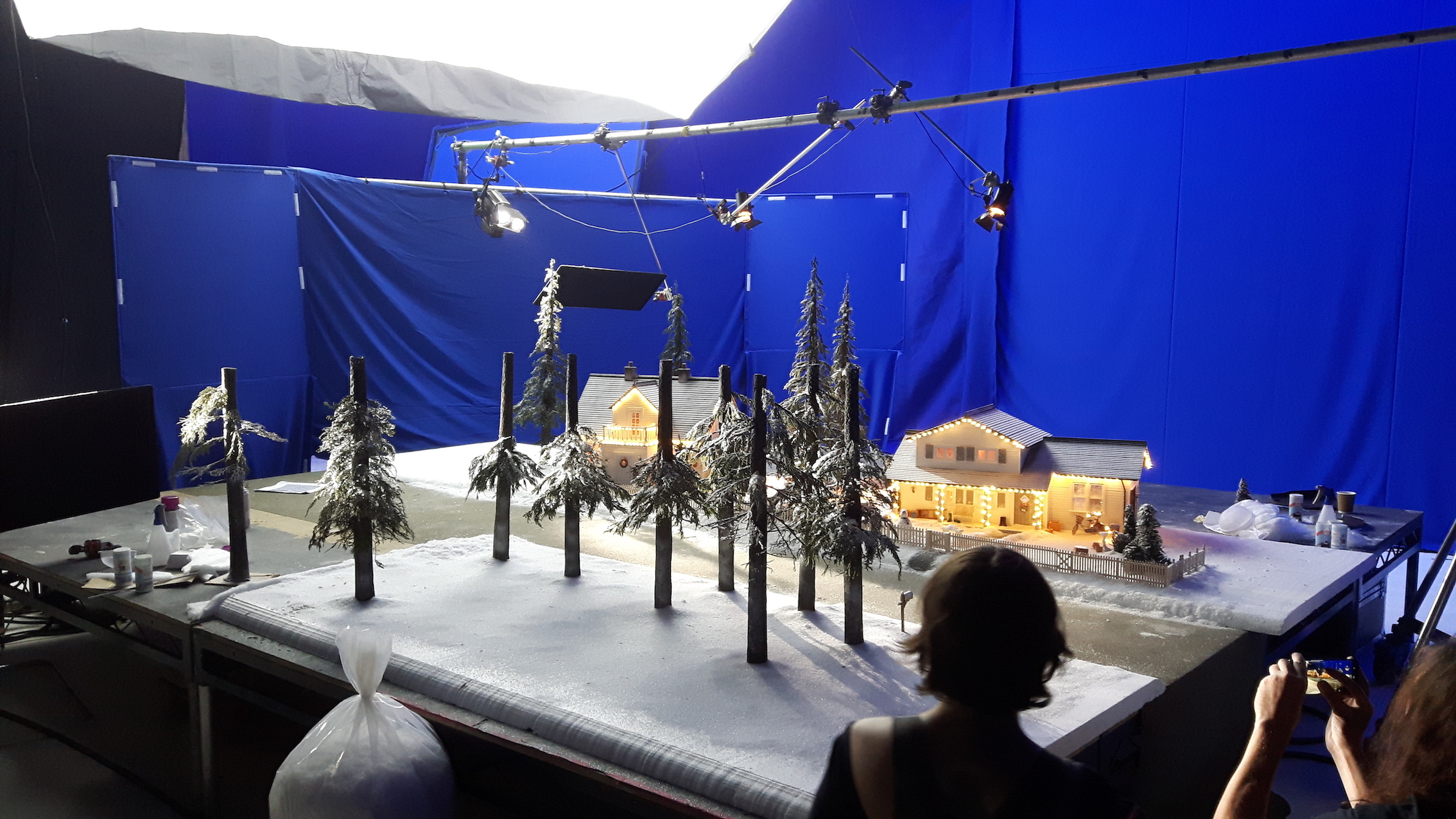 Miniature VFX models for animation
