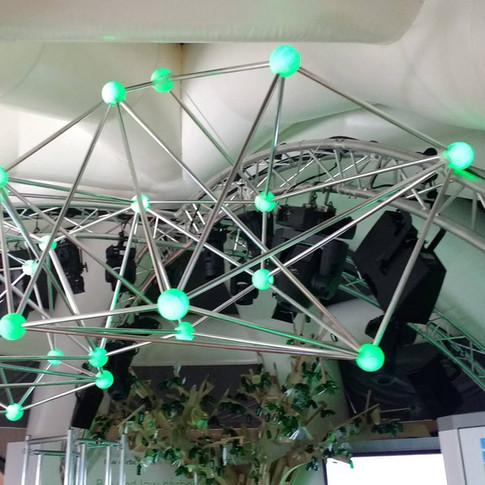 Network cloud event prop