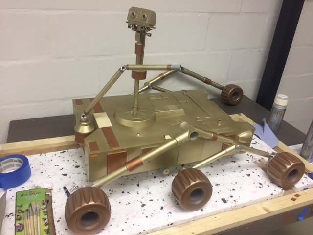 Mars Rover Miniature Model
