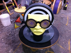 Model making for TV Cadbury's Twirl