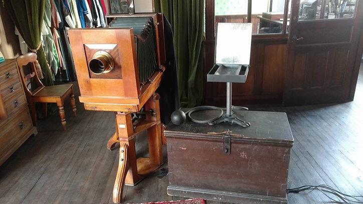 Prop making exhibit flash gun for Beamish museum