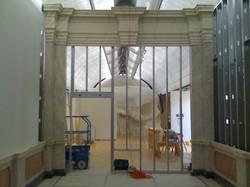 Art fabrication of installation