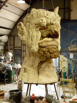Winter cast in resin