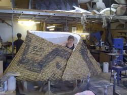 Fabrication of Winter's cloak