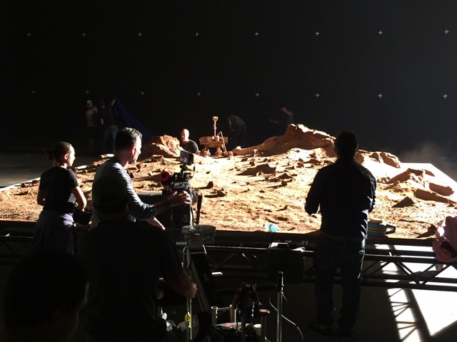 Shooting Mars Rover Miniature models