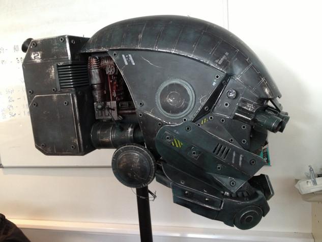VFX Robot head prop