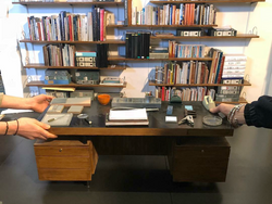 Miniature model making office