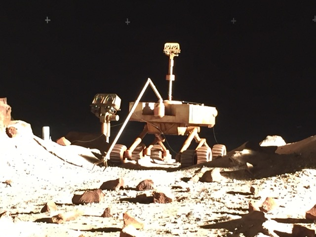 Miniature rover and camera