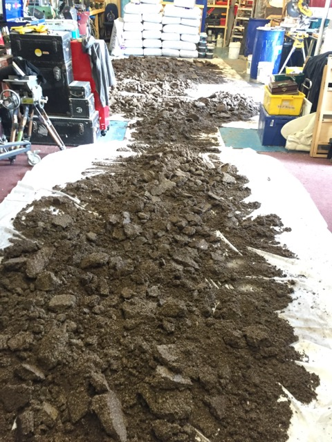 Soil manufacturing process