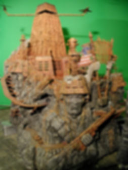 Unseen special effects Imaginarium of Doctor Parnassus