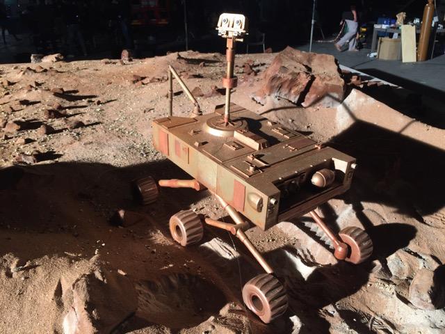 Miniature rover 3