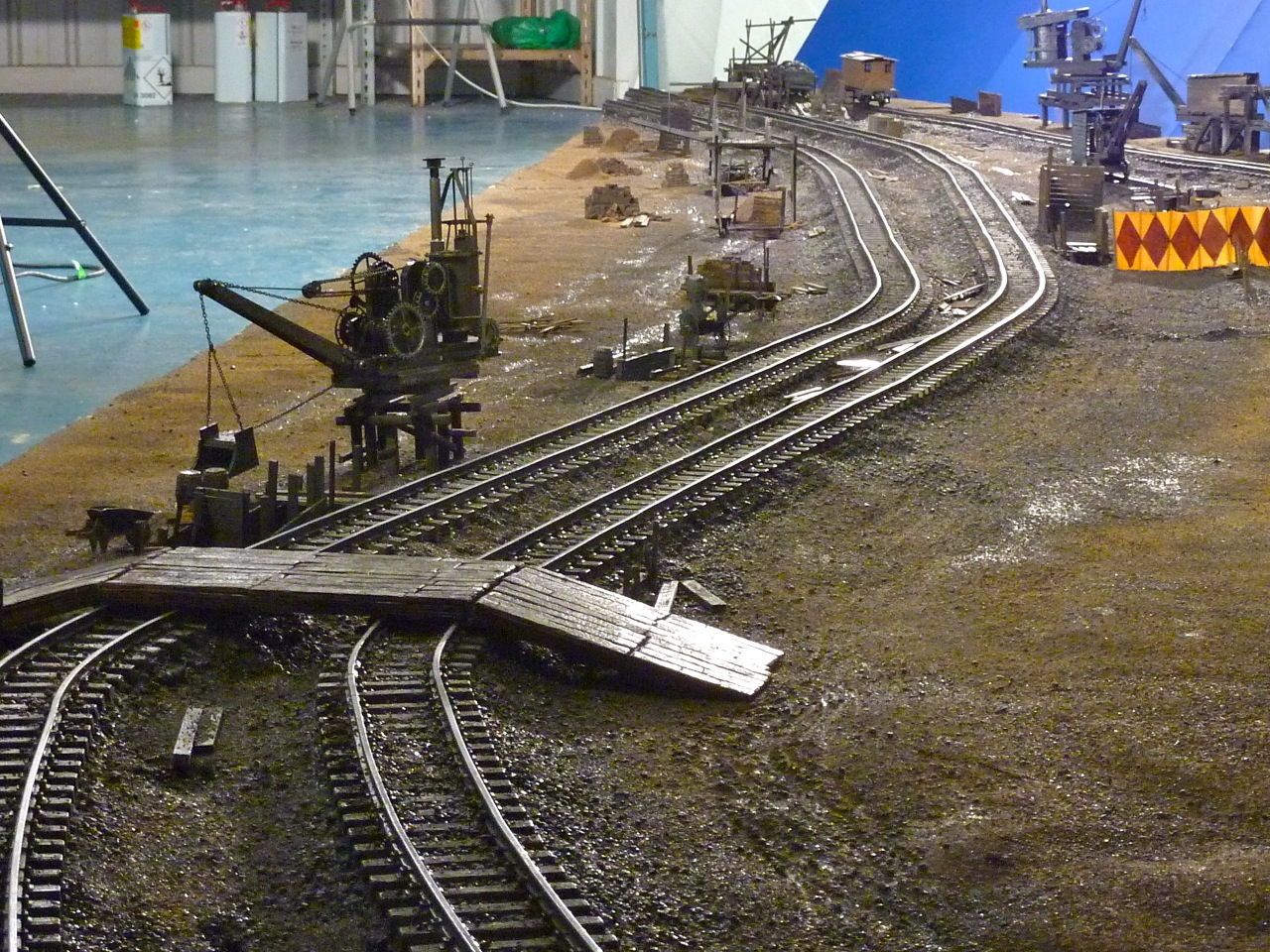 Miniature model making in our studio