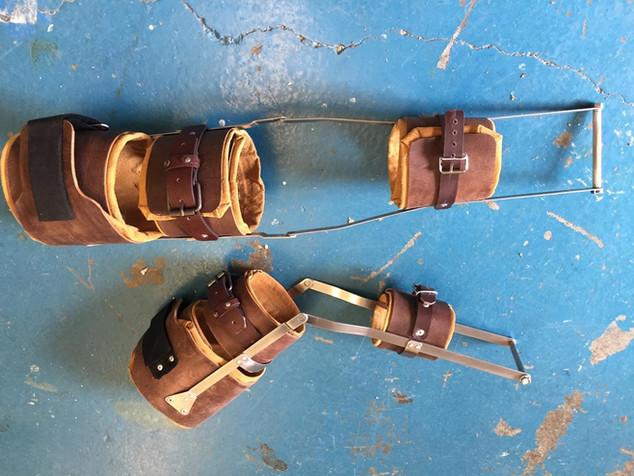 Leg calipers custom-built prop
