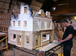 The build took place at Bray Studios