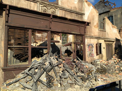 Miniature rubble piles and windows