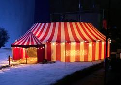 Aldi Christmas tent model