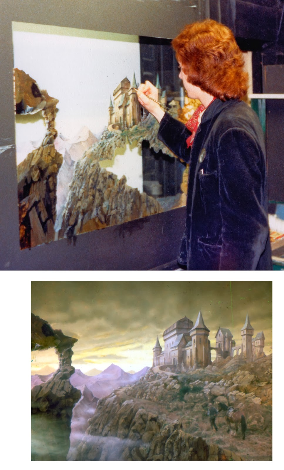 Leigh Took matte painting 5