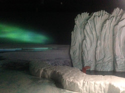 Sculpted ice glaciers, BBC Sea Life