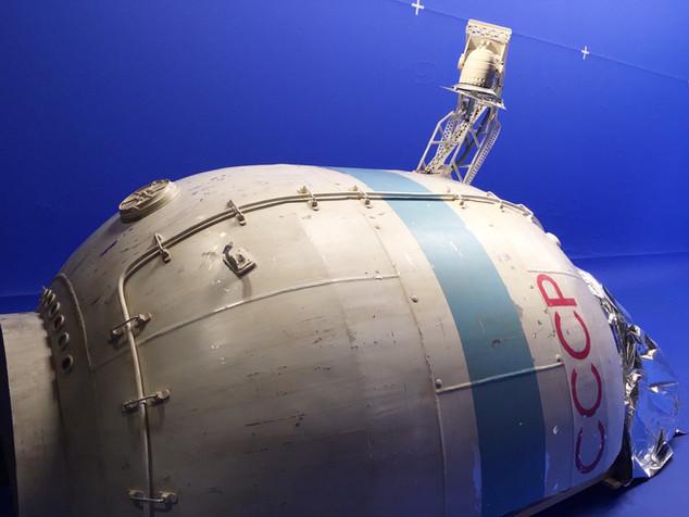 Soyuz space craft prop make
